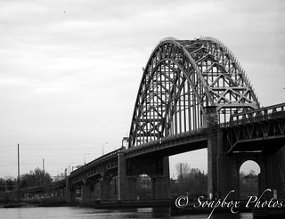 Tacony Palmyra Bridge from Palmyra Nature Cove, November 30, 2014 | by Soapbox Girl (Carol Anne)