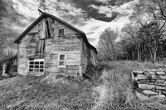 Barns - Smithfield RI (BW)