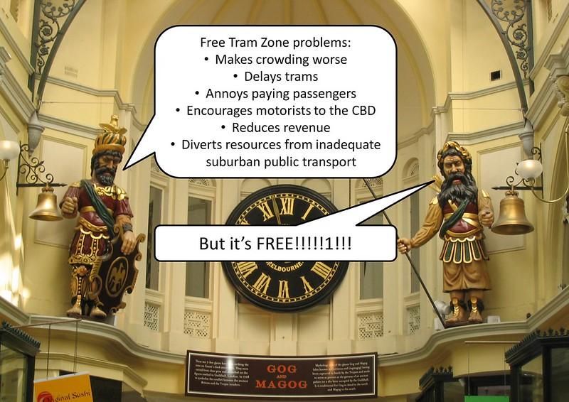 The Free Tram Zone debate