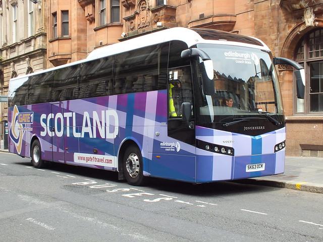 SK63OCM Edinburgh Coach Lines Jonckheere