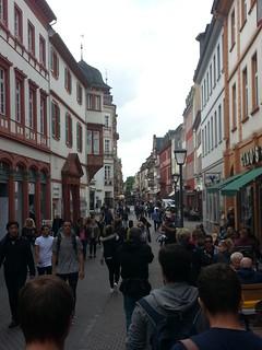 Ein problematischer Aspekt des Tourismus in Heidelberg!