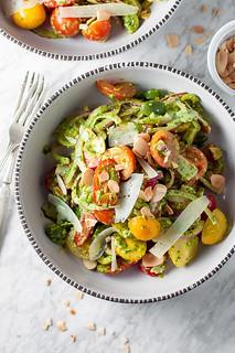 Spanish tomato salad closeup | by tessascotolson