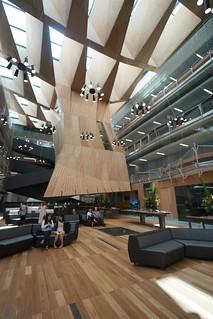 Atrium plaza, Melbourne | by Joe Lewit