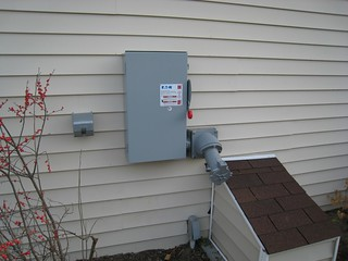 Electrial fixtures to control that backup power generator | by U. S. Fish and Wildlife Service - Northeast Region