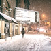 New York City - 2nd Avenue - Snow by Vivienne Gucwa