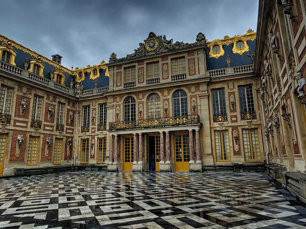 The entry to Versailles