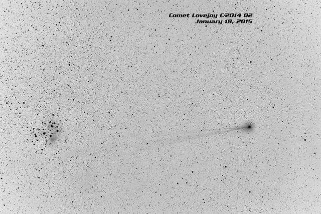 Comet Lovejoy C/2014 Q2 - Negative - Jan. 18, 2015