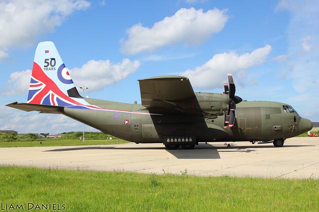 Lockheed C-130J Hercules C5 - ZH883 - RAF