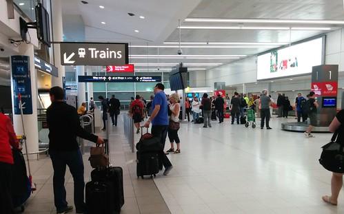 Sydney Airport - bag claim