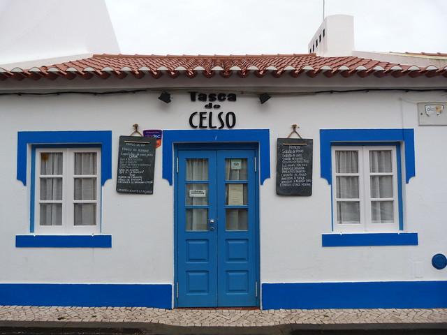 Tasca do Celso en Vila Nova de Milfontes (Alentejo, Portugal)