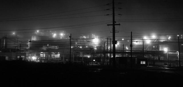 Foggy refinery @ Karns City, Butler County Pennsylvania