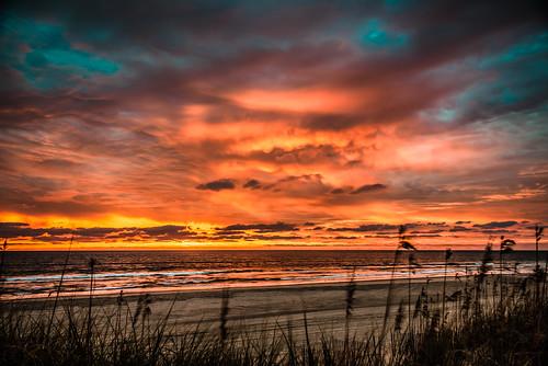 sunrise northcarolina outerbanks corolla beachwedding obx