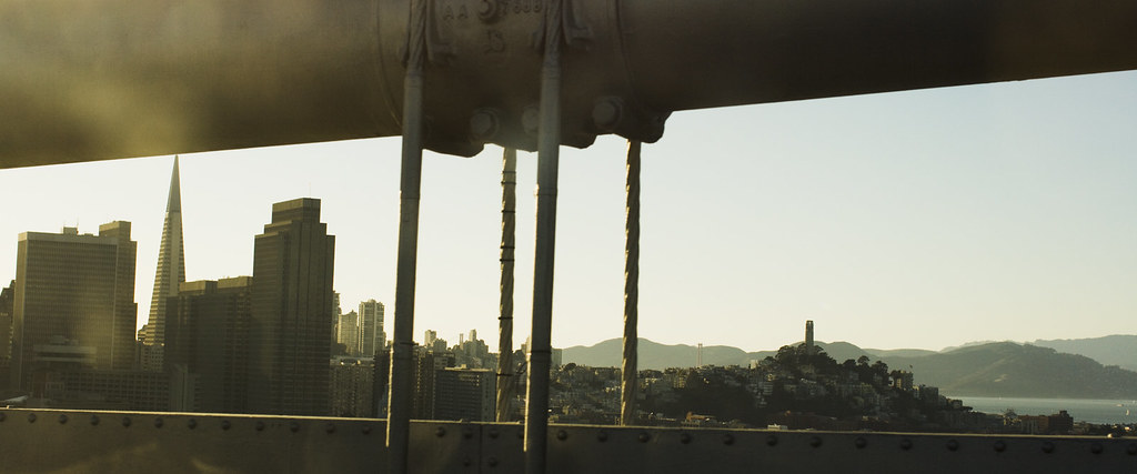 SF from the Bay Bridge