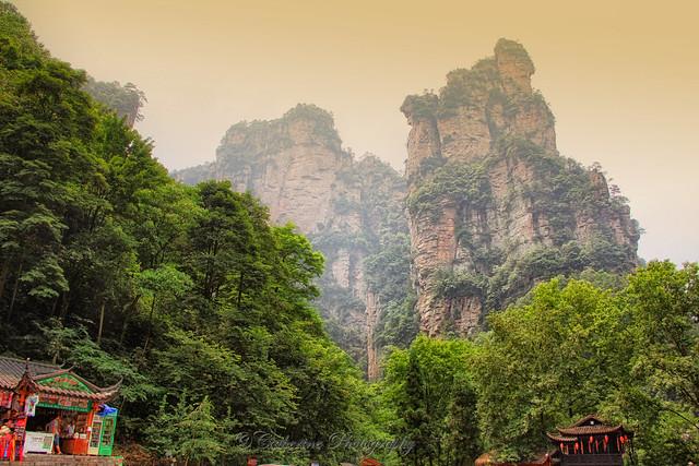 Avatar Hallelujah Mountains -Zhiangjiajie, China -Spiral mountains