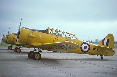 KF314 Harvard TIIB ETPS, MOD(PE) Boscombe Down | by Stuart Freer - Touchdown Aviation
