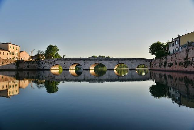 Ponte di Tiberio, Rimini, Italy May 2016 088