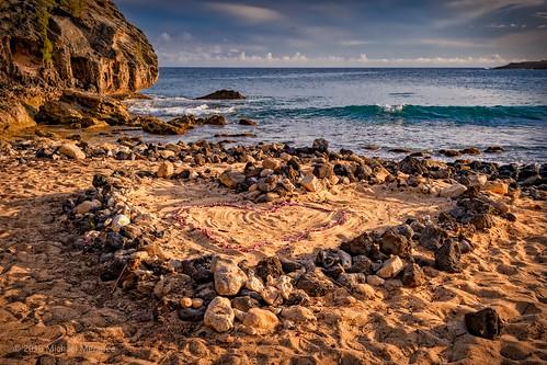 ocean travel wedding love beach nature landscape hawaii nikon paradise waves heart pacific dusk scenic panoramic kauai tropical tropics d500 shipwreckbeach menefee michaelmenefee