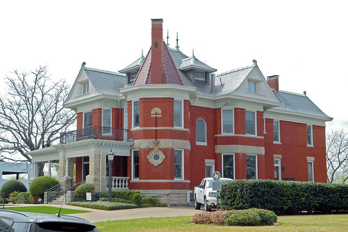 house architecture texas victorian historical turret fortworth queenannestyle
