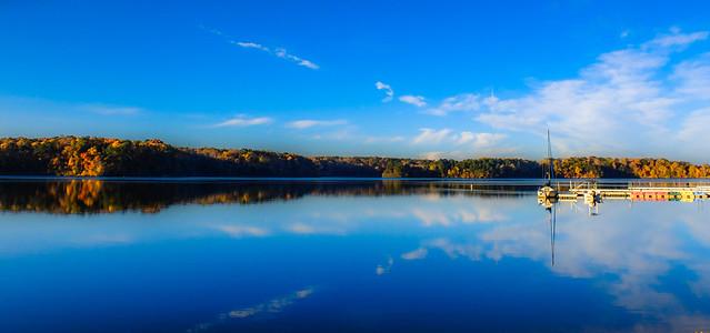Calm, Crisp Morning at the Lake