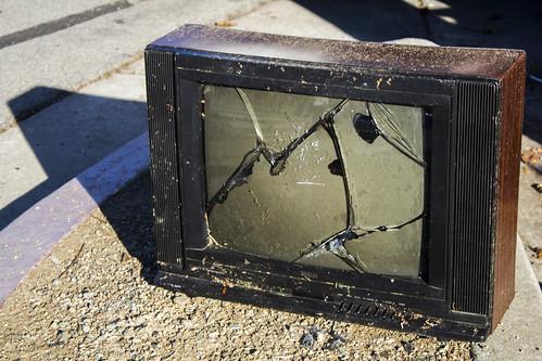 Smashed TV | by quinn.anya