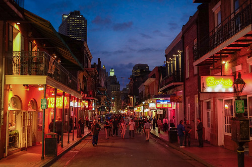 Bourbon Street wakes up at dusk | by Lars Plougmann