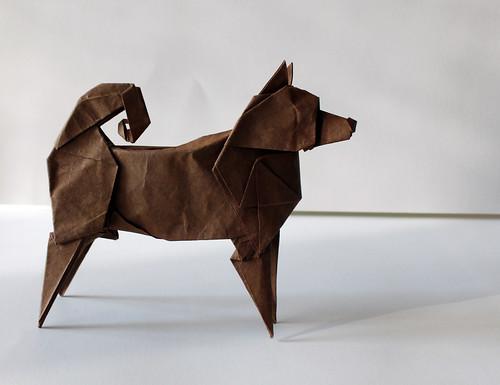 JINDO DOG | by paper folding artist redpaper