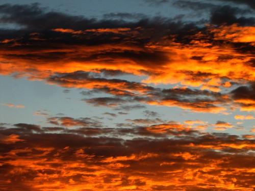 sunset sky clouds colorado dusk montrosecolorado