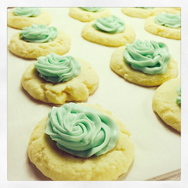 Peppermint Meltaway Cookies Cookies Mint Peppermint Su Flickr