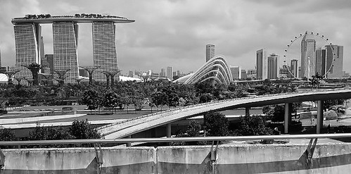 skyline in black and white | by SM Tham