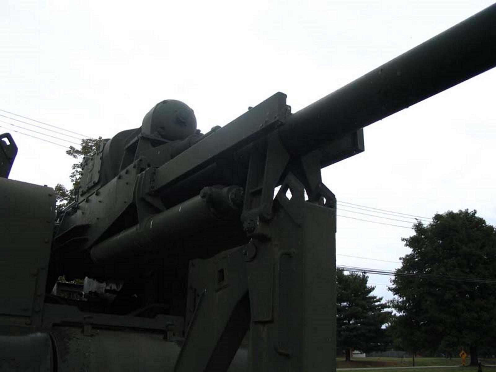 US 90mm M2 Anti-Aircraft Gun 10