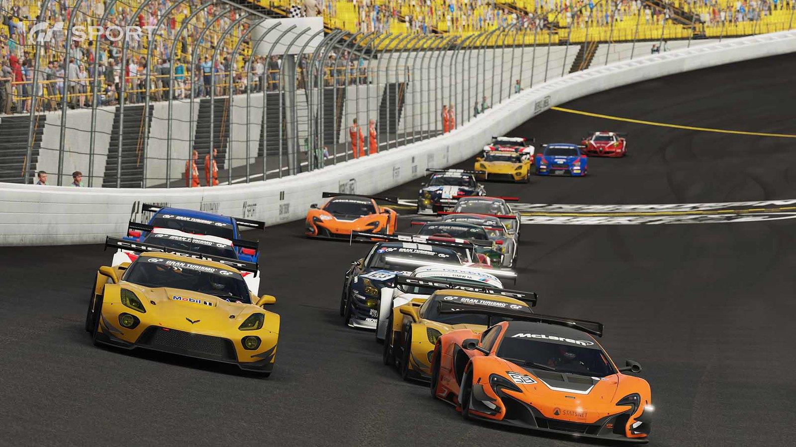 Gran Turismo Sport racing pack