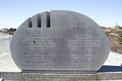 Peggy's Cove - Swissair 111 Memorial