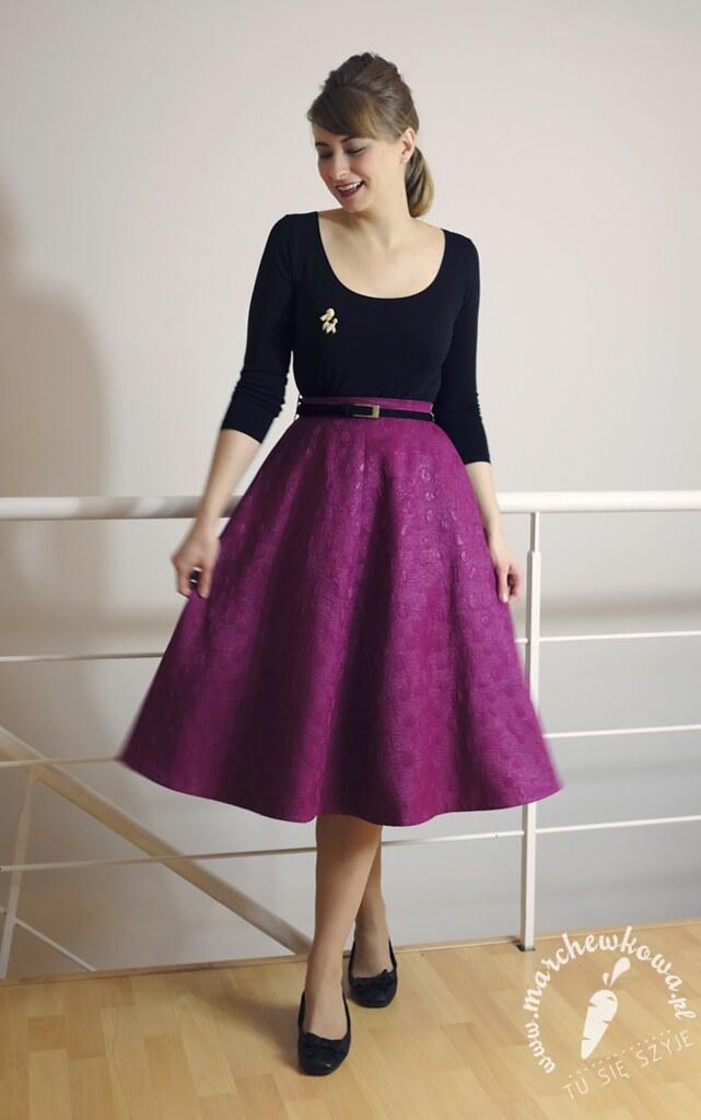 17bf2879 Szpilka party, 21.11.14 | Skirt: made by me | Justyna Marchewkowa ...