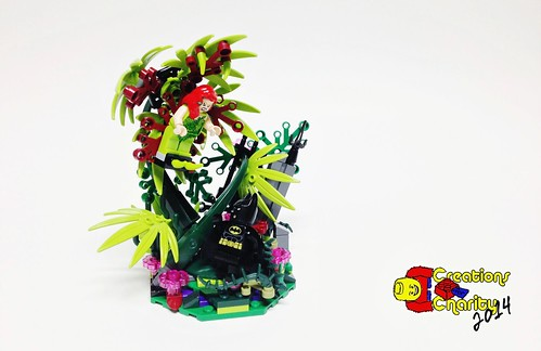 Creations for Charity: Poison Ivy Desk Buddy