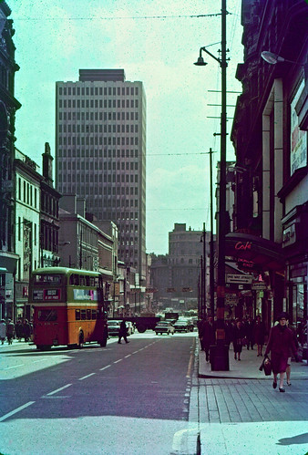 Sauchiehall Street, looking East, 1968 | by neilmc_photos