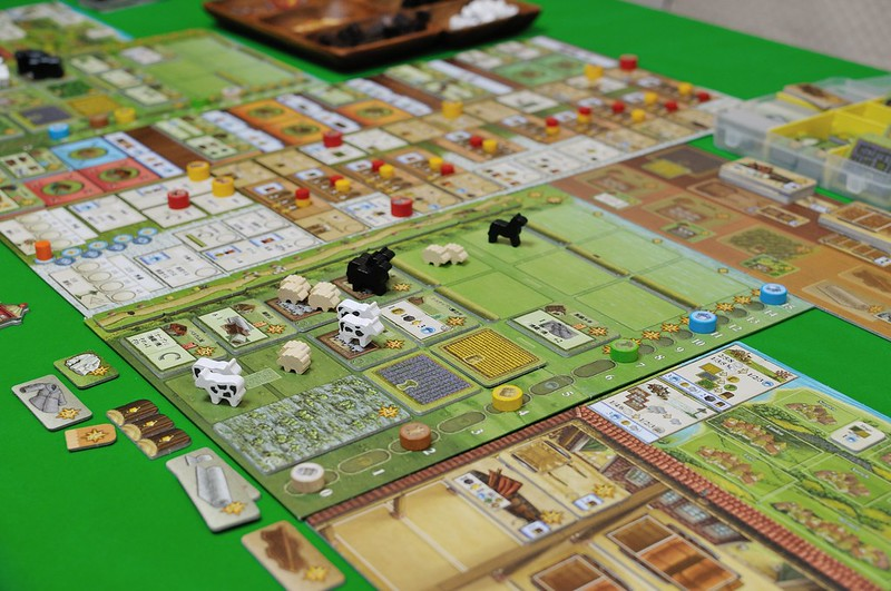 Fields of Arle player board