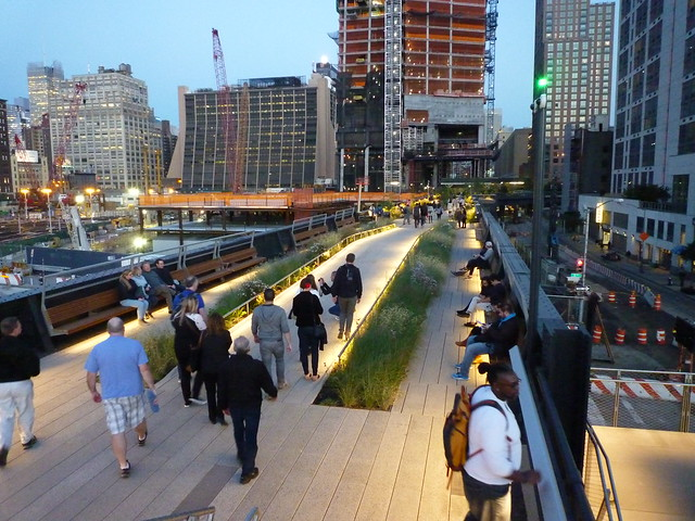 201410143 New York City Chelsea High Line Park 3rd phase