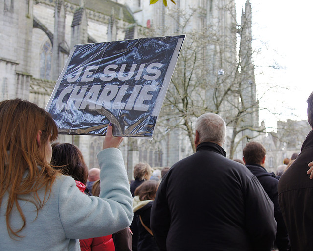 Manifestation à Quimper