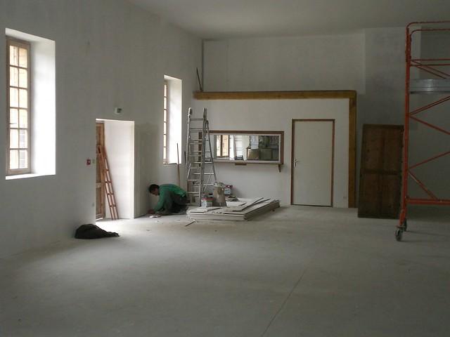 Rénovation du bâtiment du musée - 2010