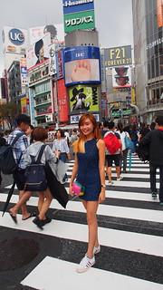 Shibuya scramble intersection