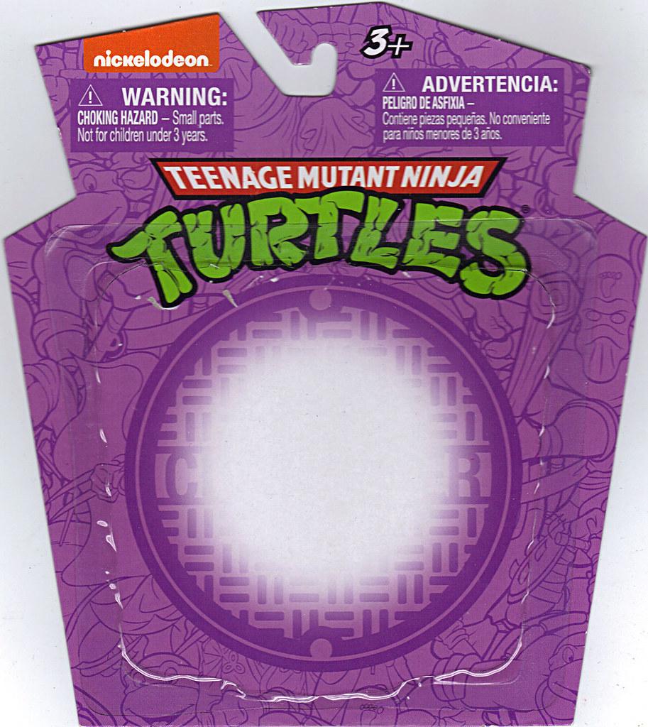 MONOGRAM INTERNATIONAL :: TEENAGE MUTANT NINJA TURTLES; COLLECTIBLE FIGURINES / DONATELLO ..card backer (( 2014 )) by tOkKa