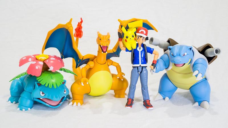 Pokemon - Ash, Pikachu and the Starters