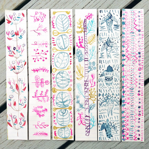 Watercolor Doodles   by Anika Starmer – A is for Anika