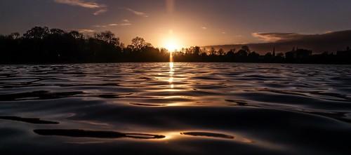 sunset sun lake dusk sony parklake lurganpark lightroom5 sonyslta77v sonydt1650mmf28ssm