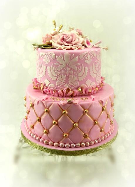 sweet 16 damask