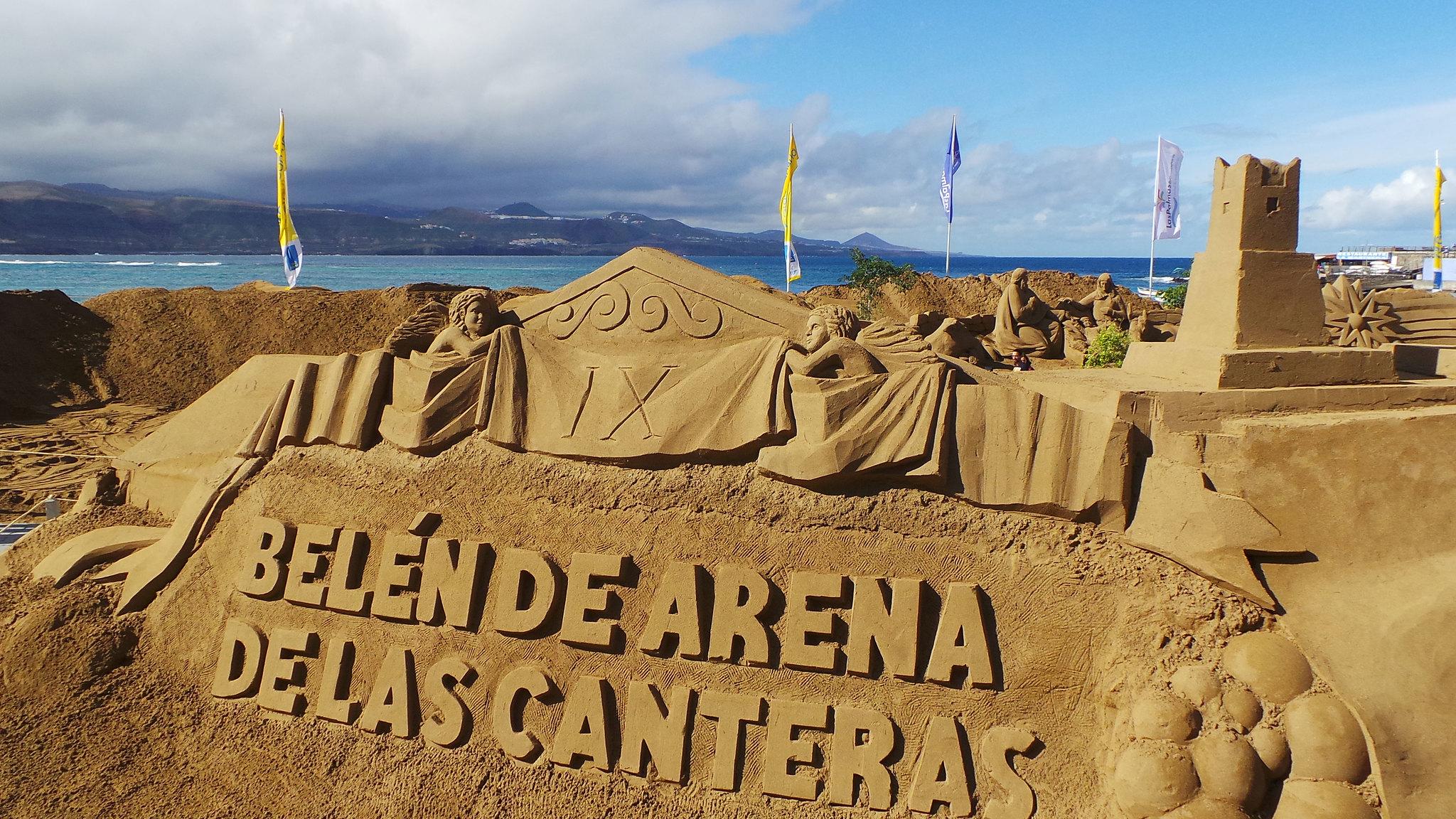 9 Edición Belén de Arena Playa de Las Canteras Las Palmas de Gran Canaria