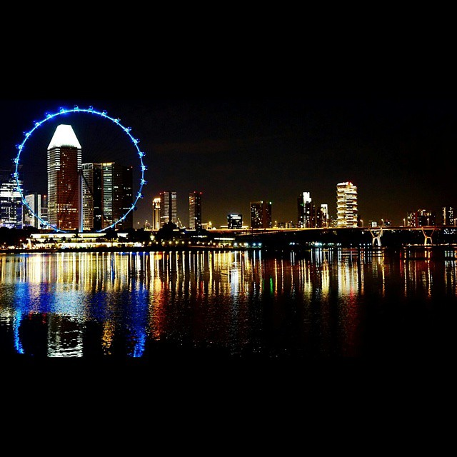 My view from Satay by the Bay. #SG #SGflyer #a6000 #sel35f18 @piangits