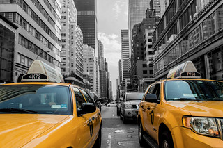 Yellow Cabs in New York City | by Lensicle