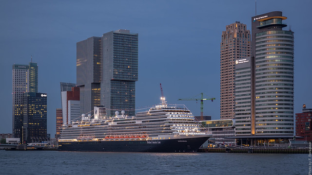 ms Koningsdam - Cruise terminal - Port of Rotterdam