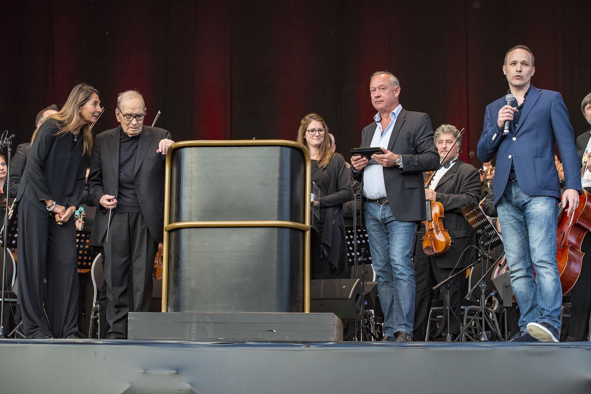 Ennio Morricone @ St-Pietersplein Gent (Nick De Baerdemaeker)